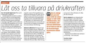 Foto: Skärmdump från MVT.se - 20160405_mvtdebatt_drivkraften