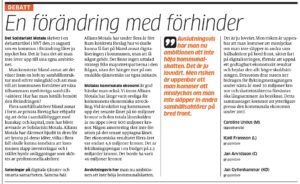Foto: Skärmdump från MVT.se - 20160826_mvtdebatt_forandringmedforhinder